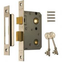 Era Bathroom Locks 64mm - Finish: Chrome Effect